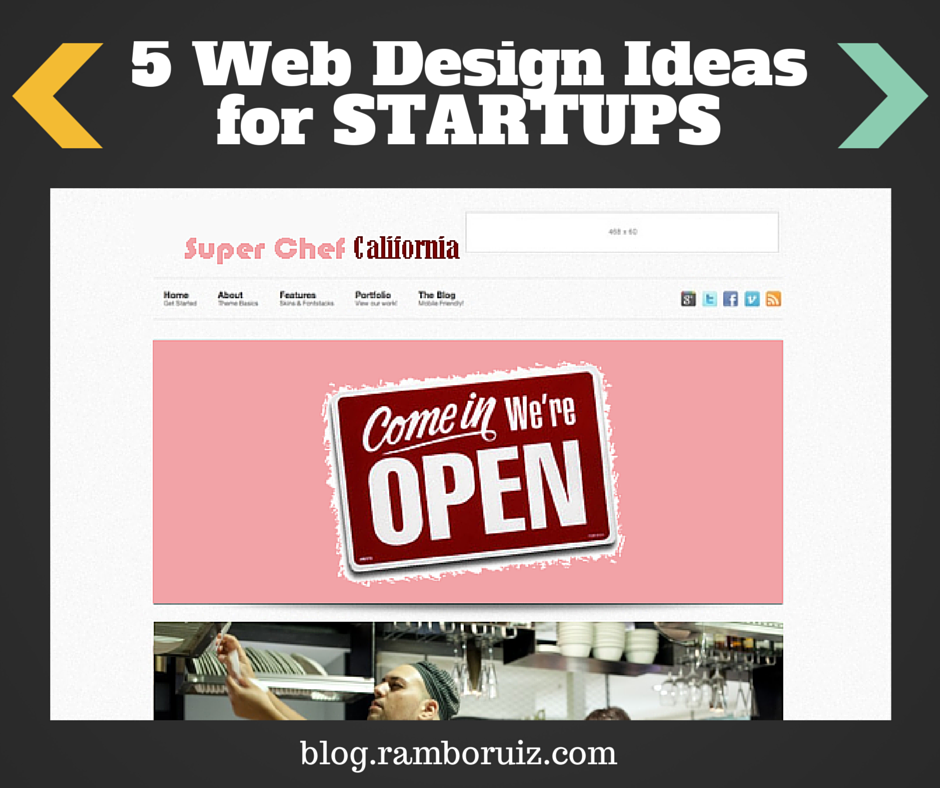Five Web Design Ideas for Startups