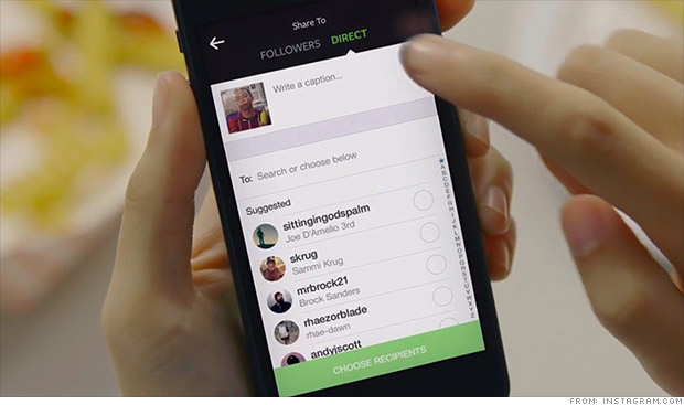 Instagram Direct is Now Here!