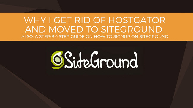 A STEP-BY-STEP GUIDE ON HOW TO SIGNUP ON SITEGROUND
