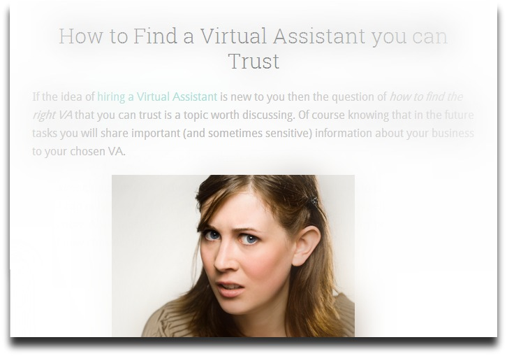 How to Find a Virtual Assistant you can Trust